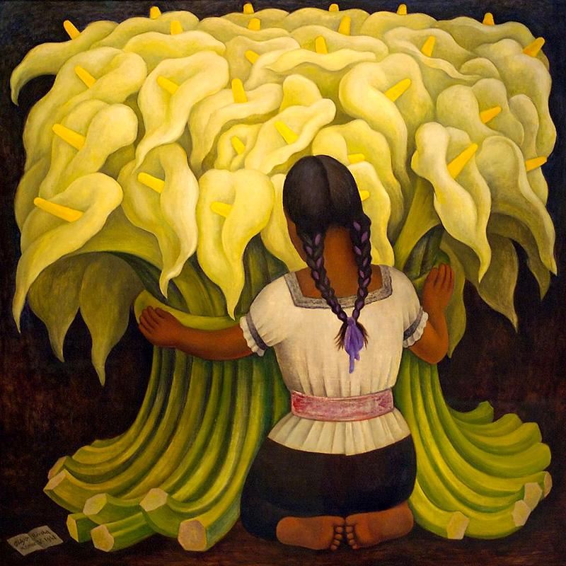 Bien-aimé La Vie de Diego Rivera : le peintre de la mexicanité AS99