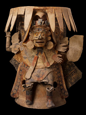 « Brasero Anthropomorphe » - Culture Mexica - 1200-500 av. J. C.