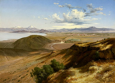 « La Vallée de Mexico » - José María Velasco - 1875 - Mexique