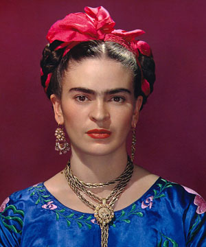 « Le ruban rouge » - Photographies de Frida Kahlo (1939)